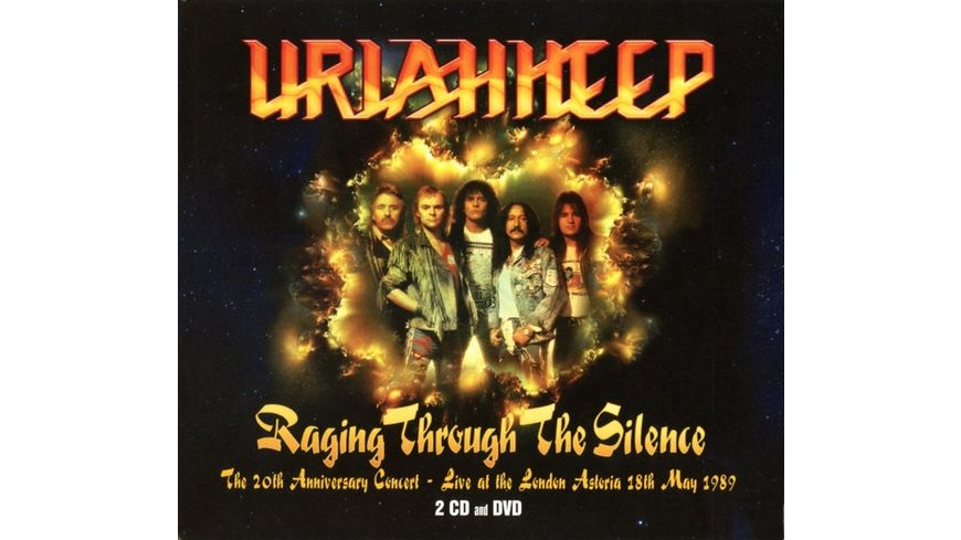 Raging Through The Silence Live 89 2CD DVD