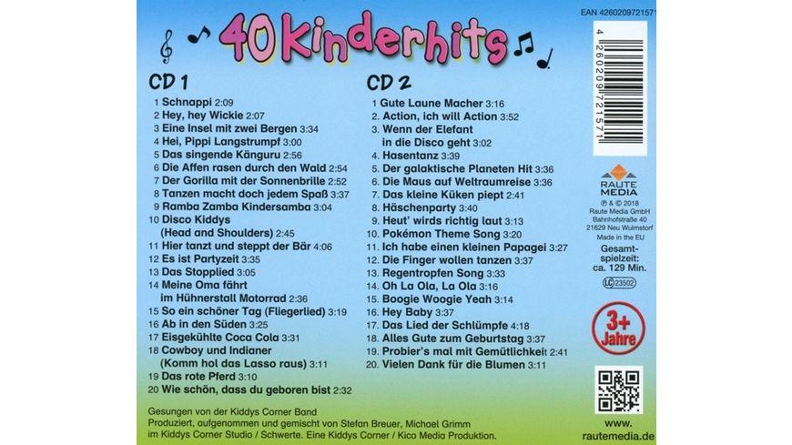 40 Kinderhits 2CD