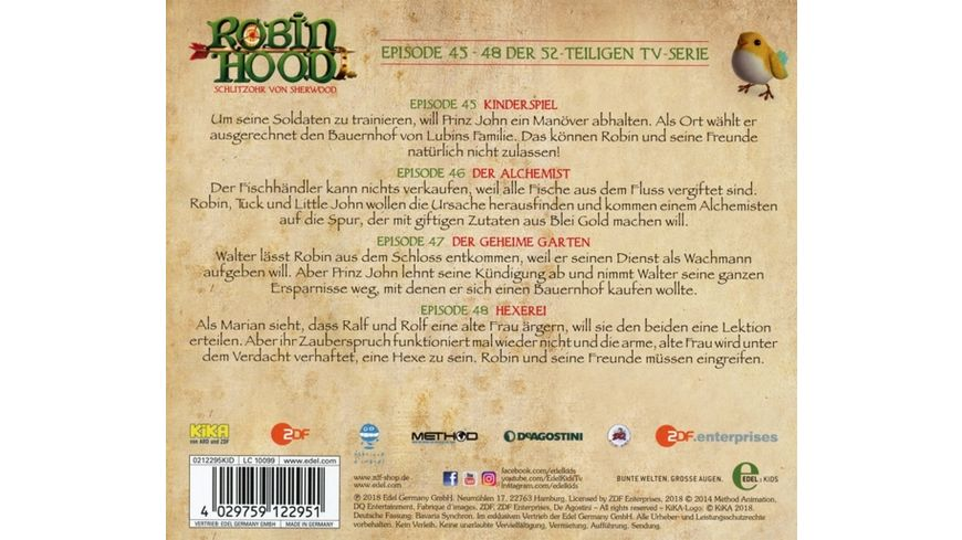 12 Hoerspiel z TV Serie Der Geheime Garten