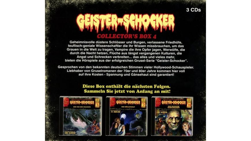 Geister Schocker Collector s Box 4 Folge 8 10