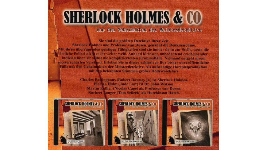 Sherlock Holmes Co Die Krimi Box 4 3 CDs