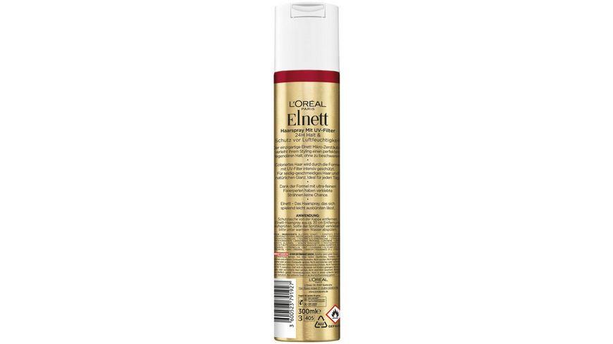 L OREAL PARIS Elnett Haarspray Color Schutz