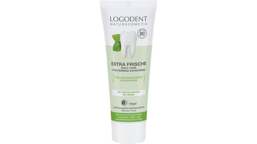 LOGODENT Extra Frische Daily Care Zahncreme