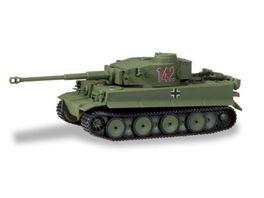 Herpa 745932 Military Panzerkampfwagen Tiger Ausf H1 dekoriert Tunesien Nr 142