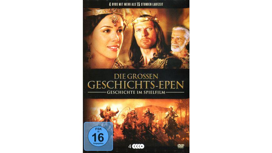 Die grossen Geschichts Epen Geschichte im Spielfilm 4 DVDs