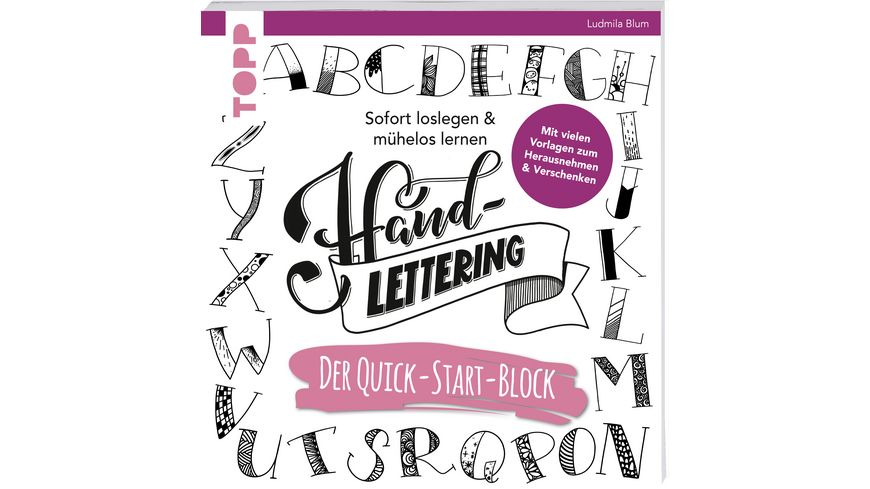 Handlettering Der Quick Start Block