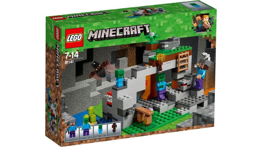 LEGO Minecraft 21141 Zombiehoehle
