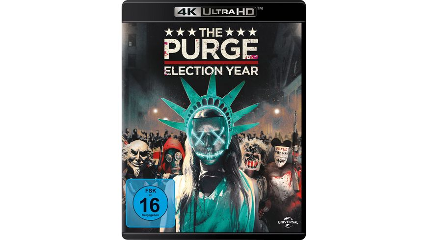 The Purge 3 Election Year 4K Ultra HD Blu ray 2D