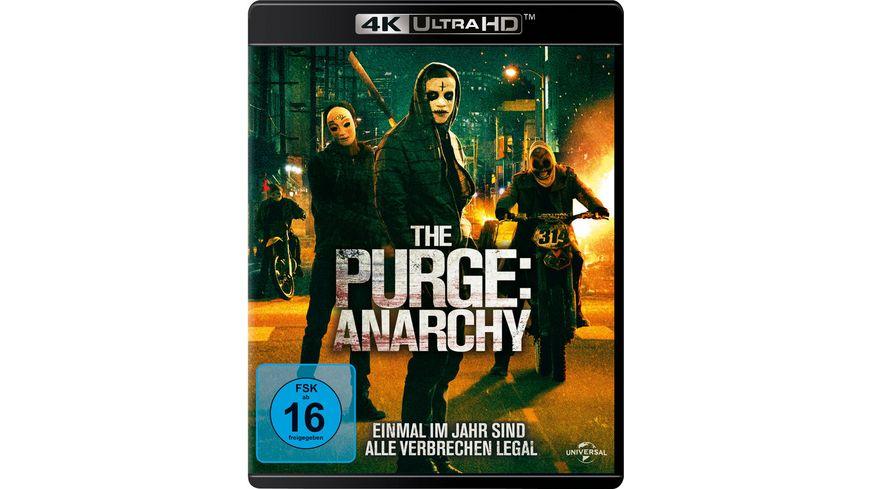 The Purge 2 Anarchy 4K Ultra HD Blu ray 2D