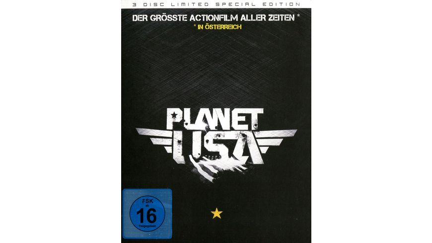 Planet USA SE Blu ray Bonus DVD