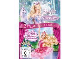 Barbie Doppelpack Schwanensee Die verzauberten Balletschuhe 2 DVDs