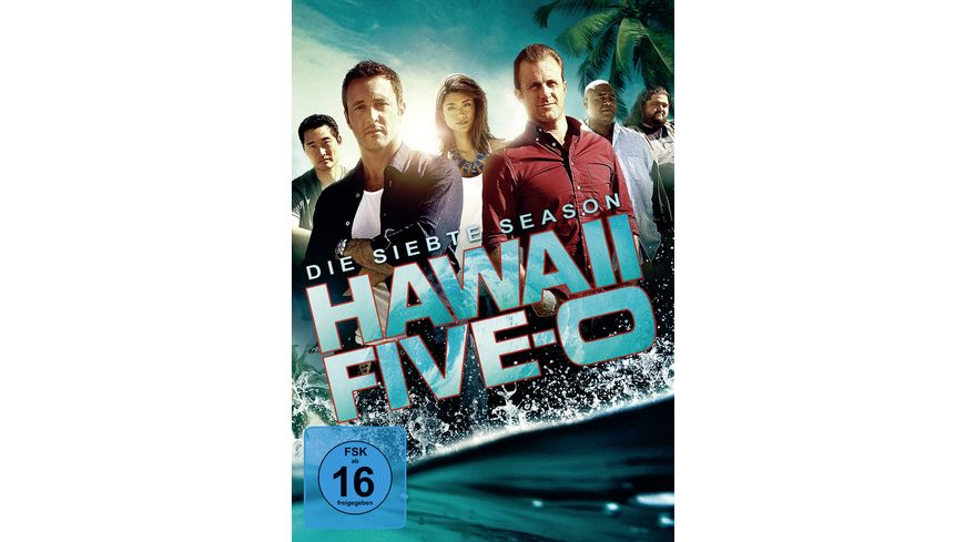 Hawaii Five 0 Season 7 6 DVDs