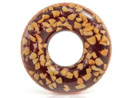 Intex Grosser Schwimmring Donut mit Schokolade und Nuessen 99 cm