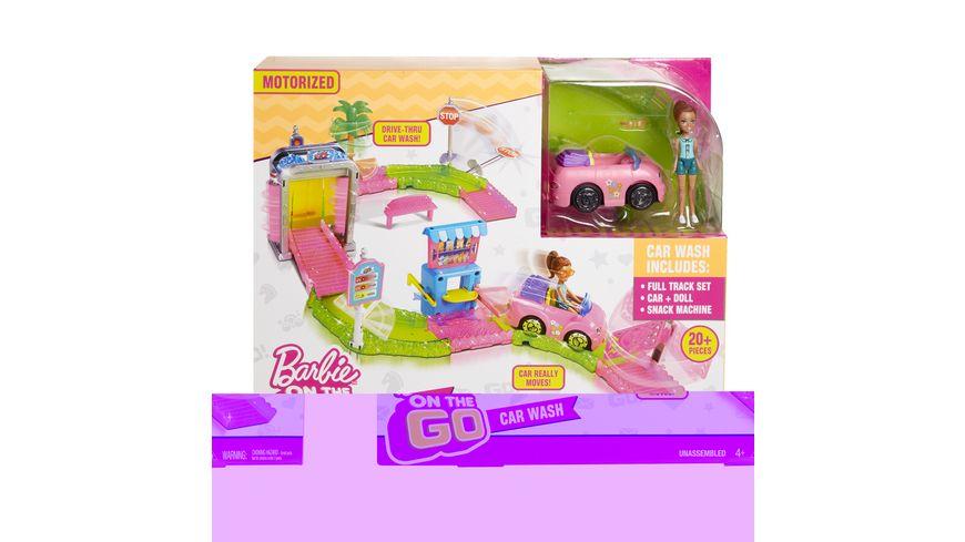 Mattel Barbie On the Go Waschanlage Spielset