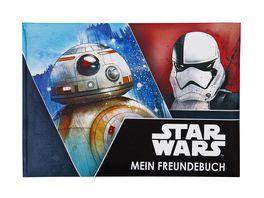 UNDERCOVER Freundebuch A5 Star Wars Episode 8