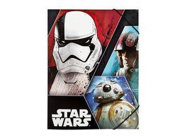 UNDERCOVER Gummizugmappe A4 Star Wars Episode 8