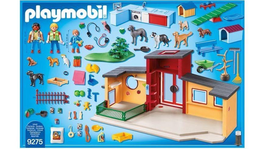 PLAYMOBIL 9275 City Life Tierhotel Pfoetchen