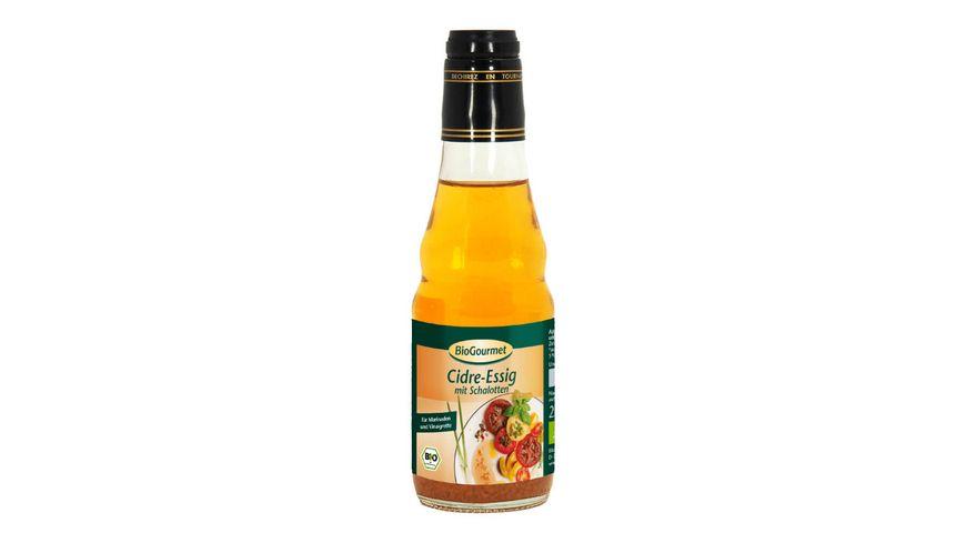 BioGourmet Cidre Essig mit Schalotten