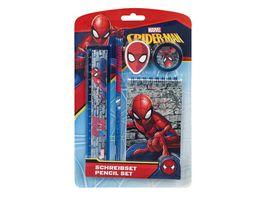 UNDERCOVER Schreibset 5teilig Spiderman
