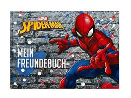 Undercover FREUNDEBUCH A5 SPIDERMAN