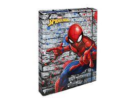 Undercover HEFTBOX A4 SPIDERMAN