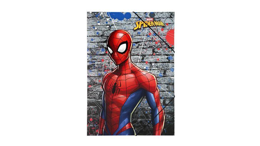 UNDERCOVER Gummizugmappe A3 Spiderman