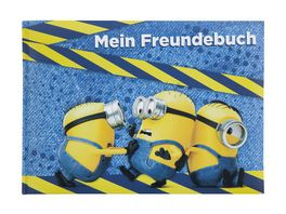 UNDERCOVER Freundebuch A5 Minions