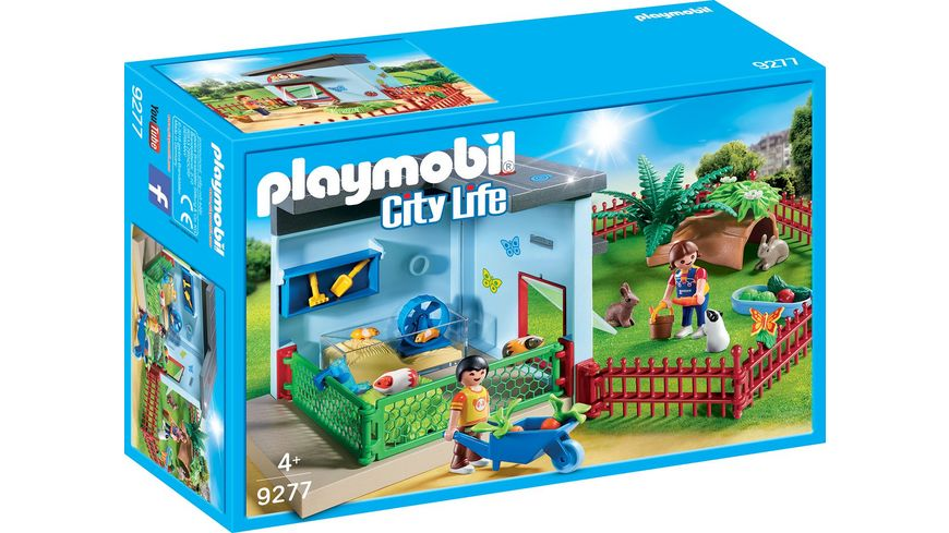PLAYMOBIL 9277 City Life Kleintierpension