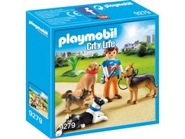 PLAYMOBIL 9279 City Life Hundetrainer