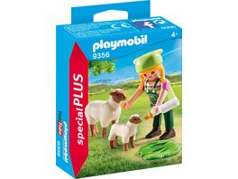 PLAYMOBIL 9356 Special Plus Baeuerin mit Schaefchen