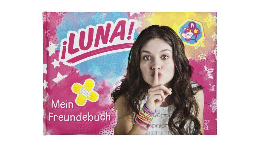 UNDERCOVER Freundebuch A5 Soy Luna 126 Seiten