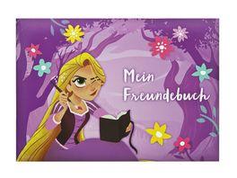 UNDERCOVER Freundebuch A5 Rapunzel 126 Seiten