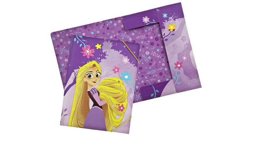 UNDERCOVER Gummizugmappe A4 Rapunzel