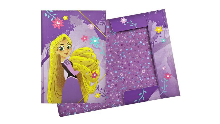 UNDERCOVER Gummizugmappe A3 Rapunzel