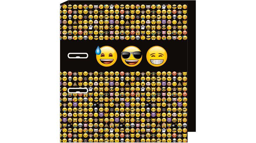 UNDERCOVER Motiv Ordner A4 Emoji