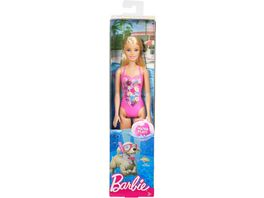 Mattel Barbie Beach Puppe Pink