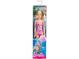 Mattel Barbie Beach Puppe Pink
