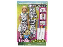 Mattel Barbie Barbie Loves Crayola Farbspass Moden Puppe