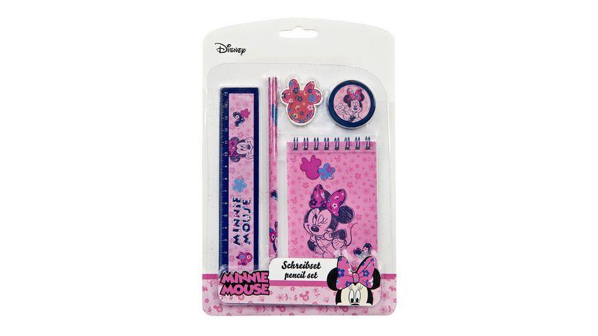 UNDERCOVER Schreibset 5teilig Minnie Mouse