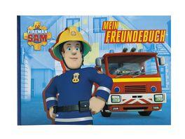 UNDERCOVER Freundebuch A5 Fireman Sam 126 Seiten