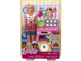 Mattel Barbie Cooking Baking Baeckerin Puppe Spielset