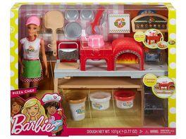 Mattel Barbie Pizzabaeckerin Puppe Spielset