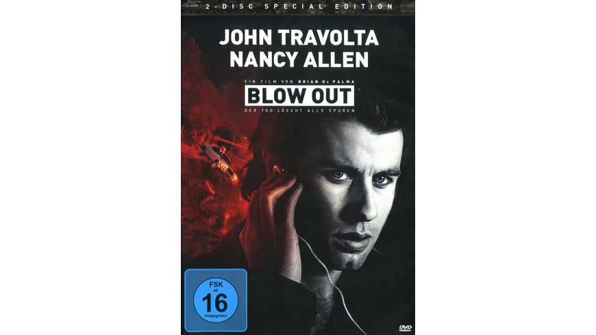 Blow Out Der Tod loescht alle Spuren Special Edition 2 DVDs
