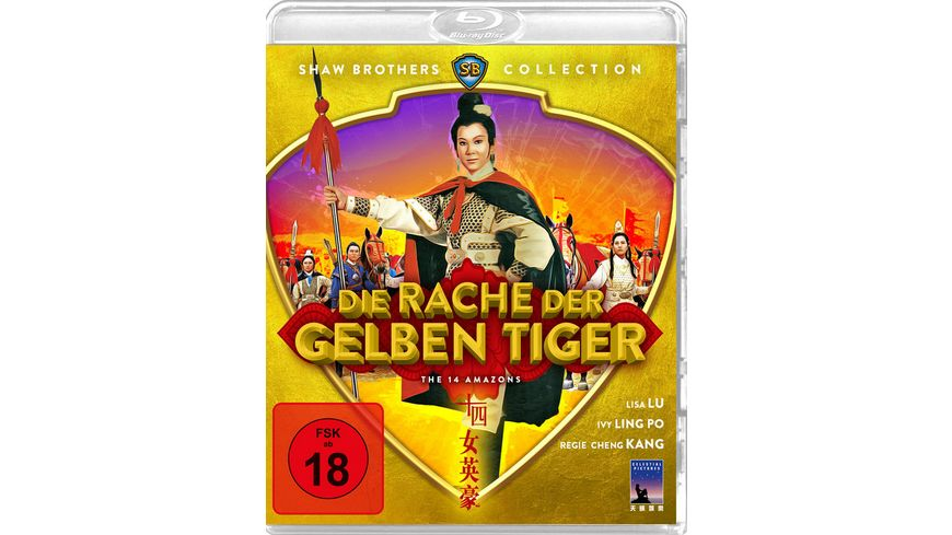 Die Rache der gelben Tiger Shaw Brothers Collection Blu ray
