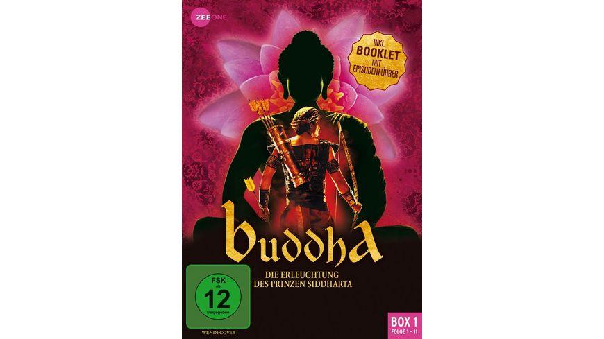 Buddha Die Erleuchtung des Prinzen Siddharta Box 1 Folge 1 11 3 DVDs