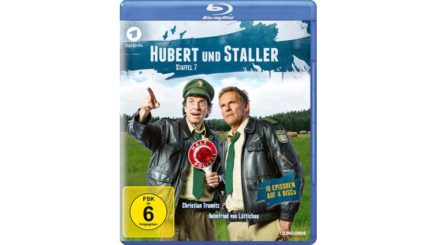 Hubert und Staller Die komplette 7 Staffel 4 BRs
