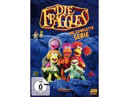 Die Fraggles Die komplette Serie Staffeln 1 5 13 DVDs