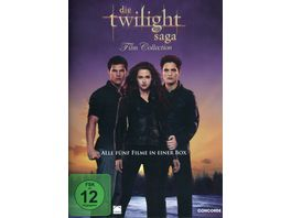 Die Twilight Saga Film Collection 5 DVDs