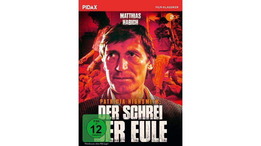 Patricia Highsmith Der Schrei der Eule Pidax Film Klassiker
