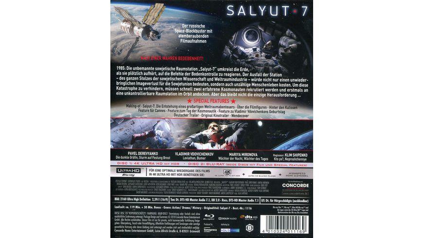 Salyut 7 Toedlicher Wettlauf im All 4K Ultra HD Blu ray 2D